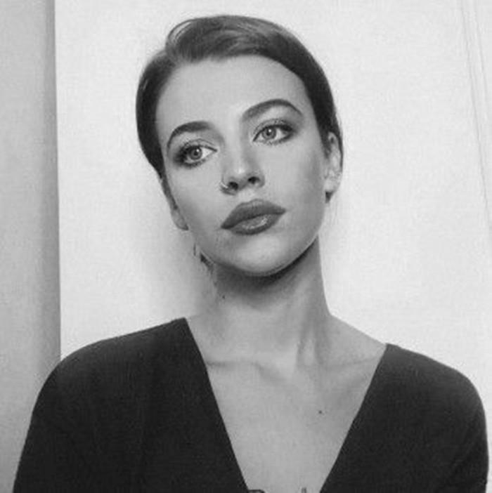 Дарья Блохина черно белая фотография