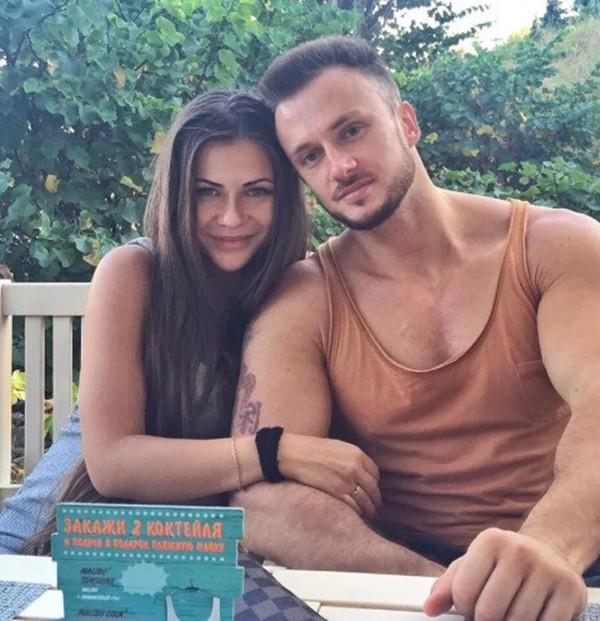 София Стужук с мужем