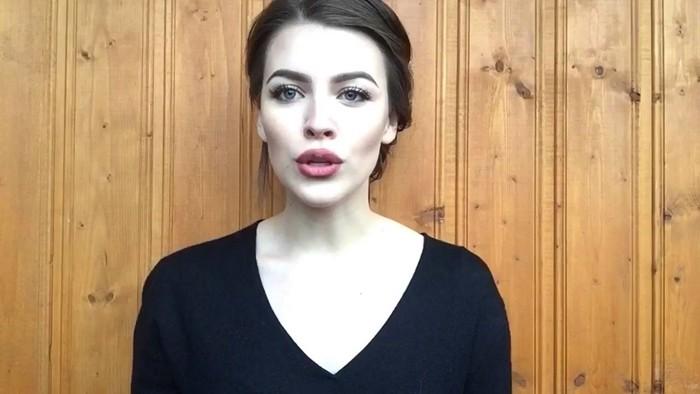 Дарья Блохина в одном из старых видео