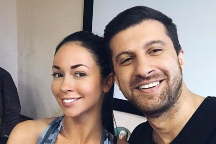 Амиран Сардаров и девушка