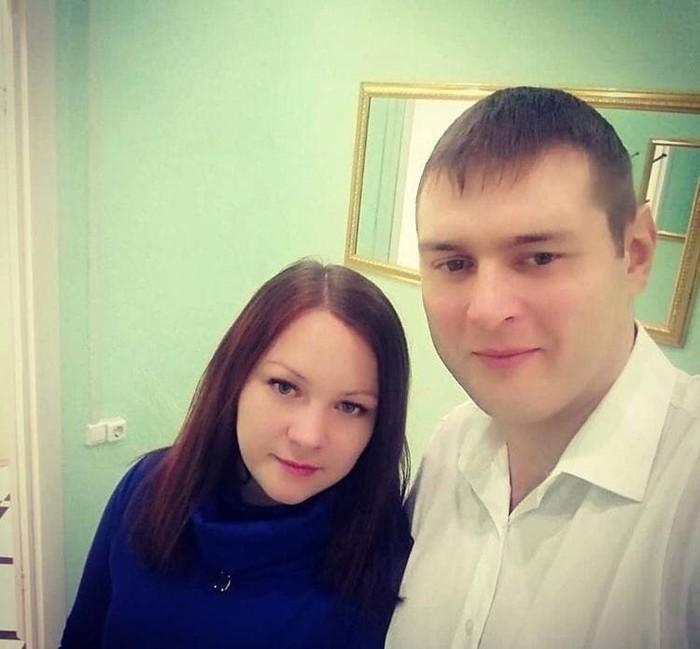 Кирилл Нефтерев с женой