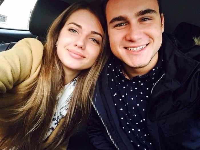 Полина Чистякова и Николай Соболев