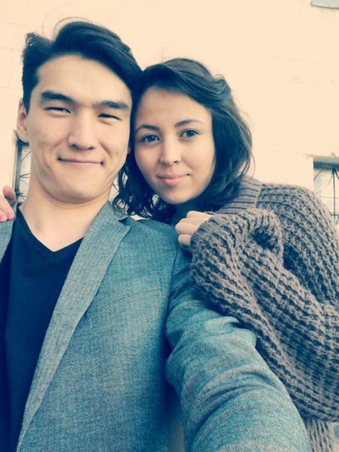 Диана Сабурова с мужем