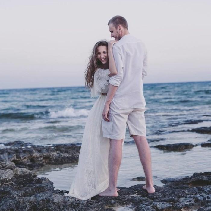 Надя Джабраилова с мужем