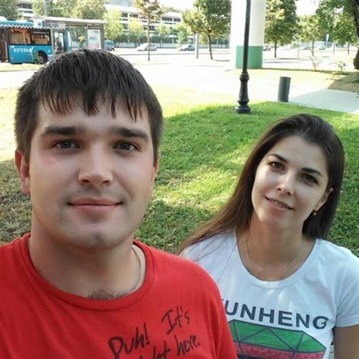 Дмитрий Павлюк и бывшая жена