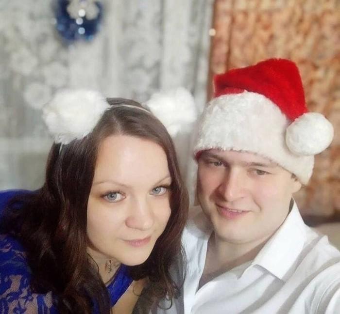 Кирилл Нефтерев и новый год с женой