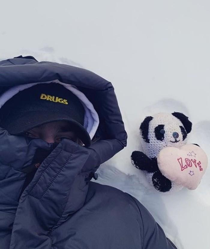 Канги фото на снегу