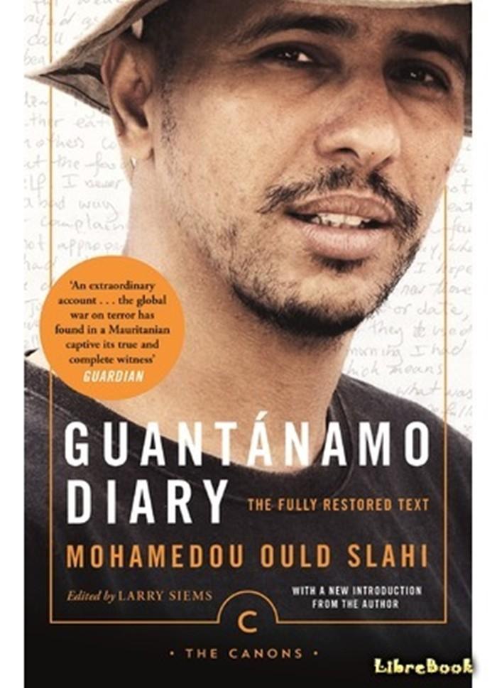 Мохаммед Ульд Слахи на обложке своей книги