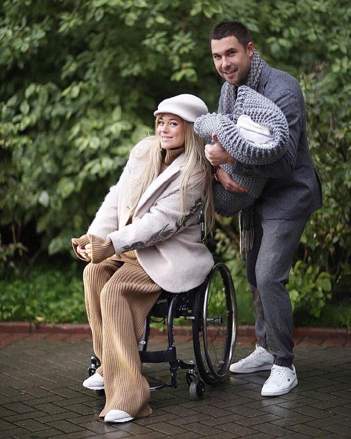 Ксения Безуглова с мужем