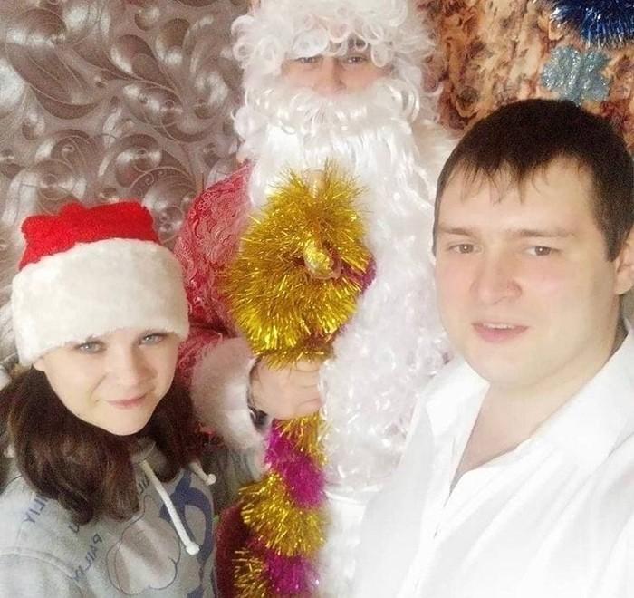 Кирилл Нефтерев и дед мороз