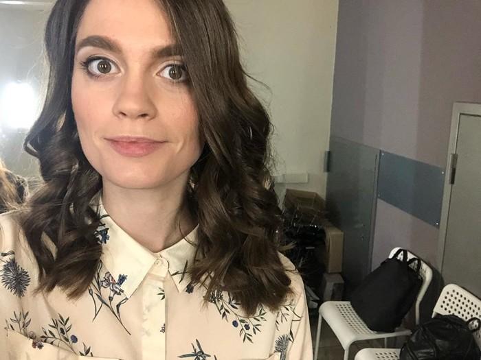 Мария Маркова фото с гримерки