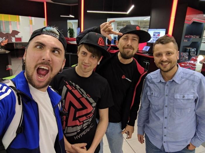 Максим Голополосов и компания HyperX