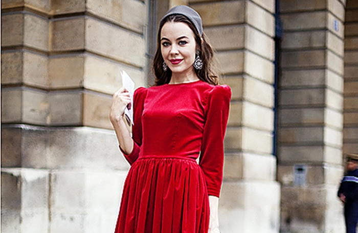 ульяна сергеенко в красном платье