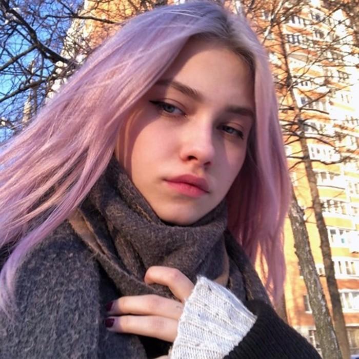 Саша Капустина селфи