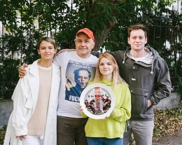 Дарья Болотова и актеры