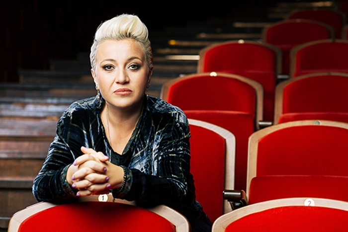 Теона Контридзе фотосессия в театре