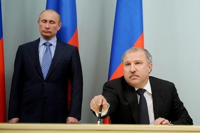 эдуард худайнатов и Путин