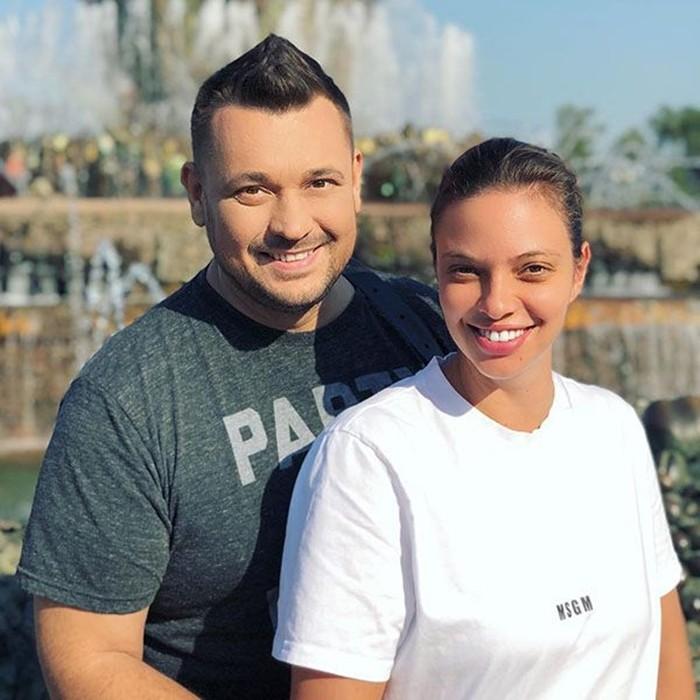 Регина Бурд и муж