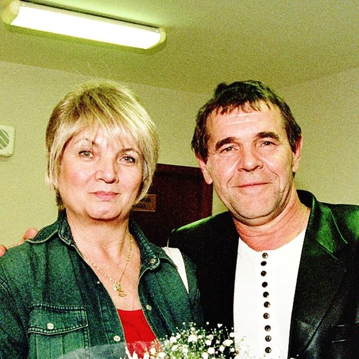 Людмила Булдакова с мужем