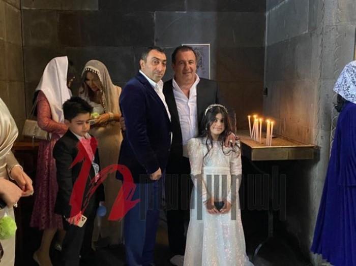 бузанд аветисян фото со свадьбы сына