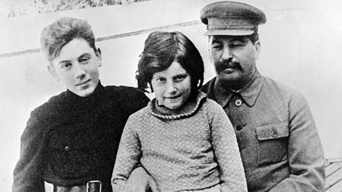 светлана аллилуева и Сталин