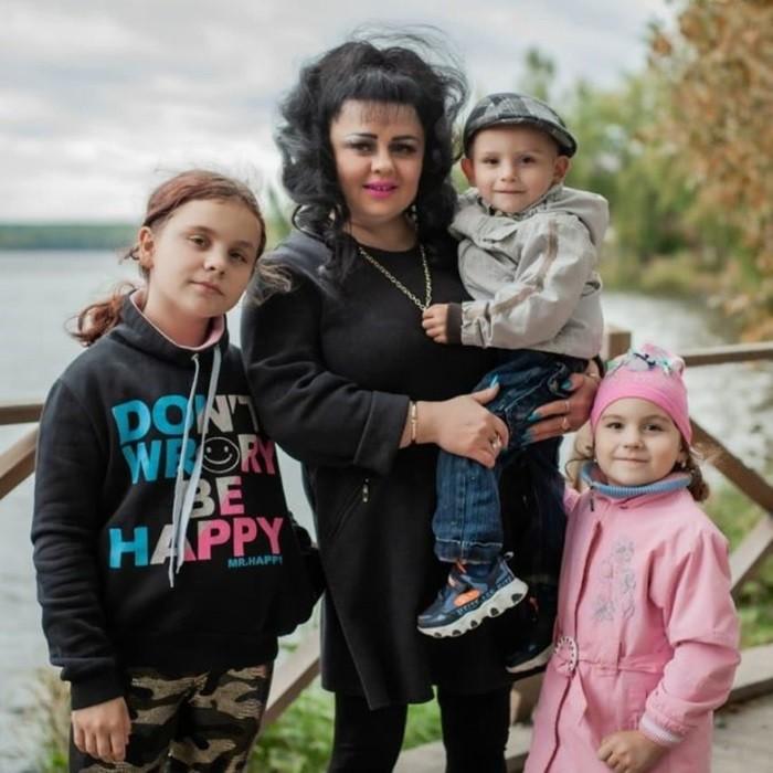 ирина костылева фото с детьми
