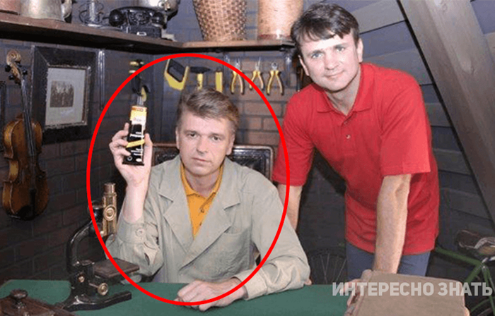 Андрей Бахметьев на тв с коллегой