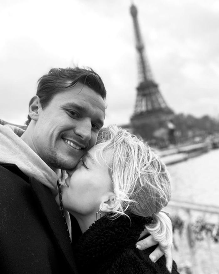 Тина Антоненко и муж