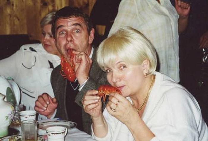 Людмила Булдакова с мужем старое фото