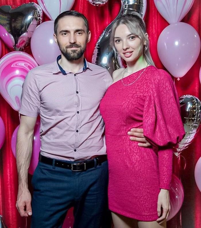 Дарья Басараб с мужем