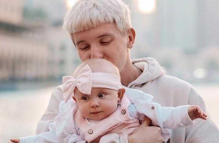 денис кукояка и ребёнок