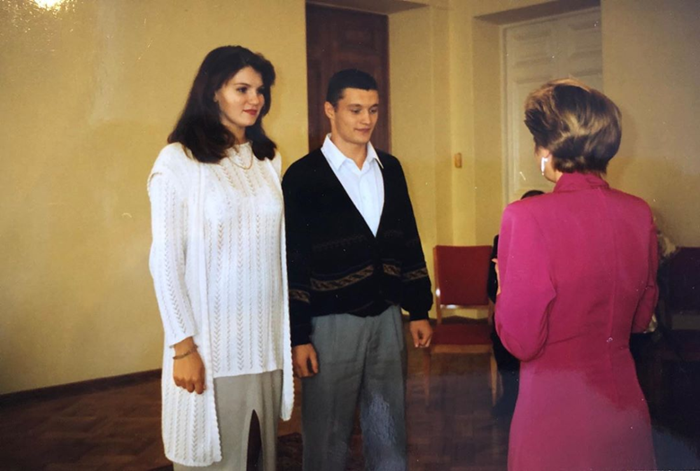Вероника Степанова муж